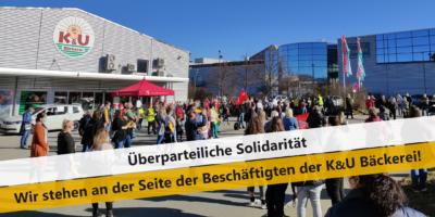 Solidaritätserklärung zu den K&U Bäckereien